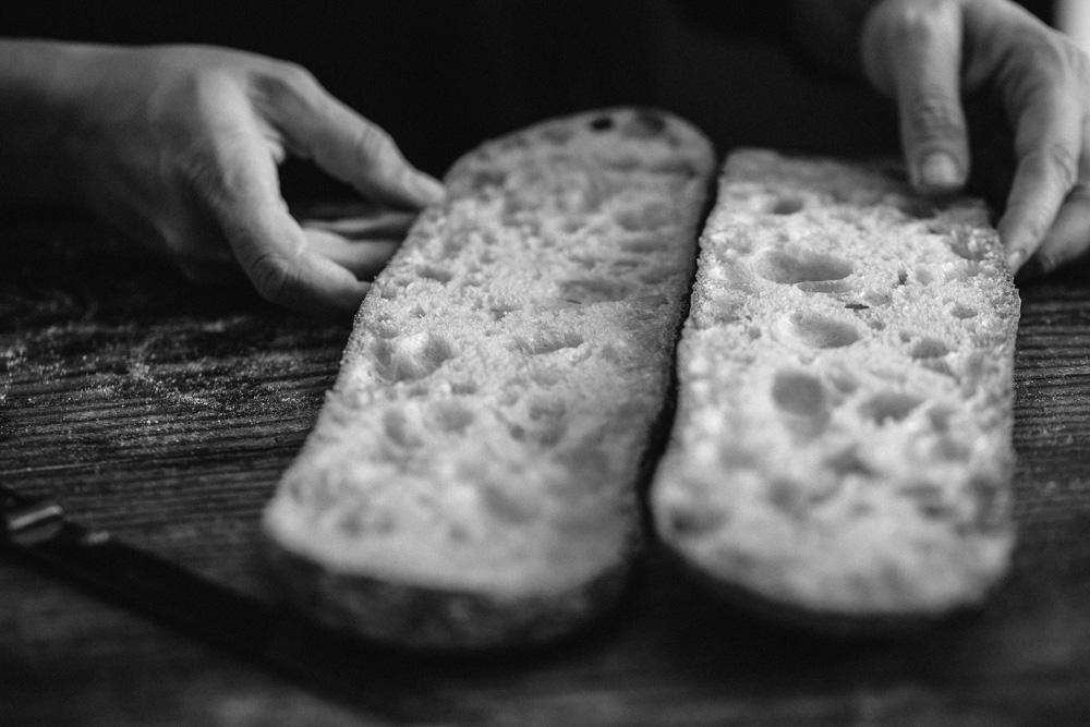 Panadería artesanal congelada